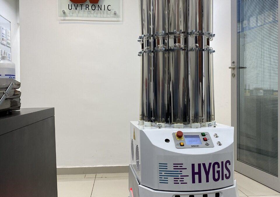 Tecnologia ultravioleta aliada à robótica pode eliminar vírus dos ambientes