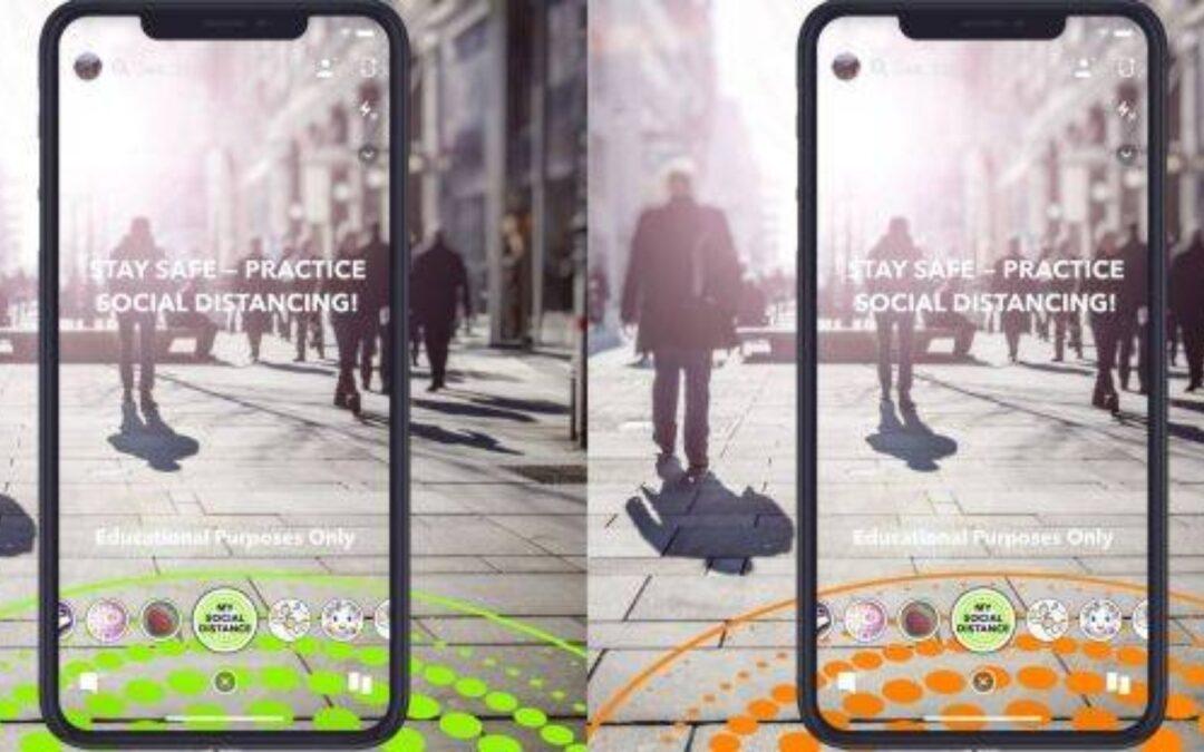 Mantenha distância – aplicativos ajudam a manter o distanciamento social