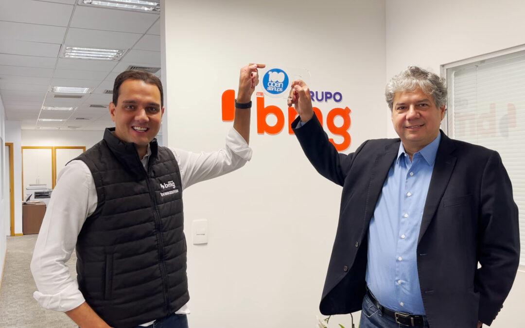 BMG está no TOP 3 das corporações que mais praticam inovação aberta no país